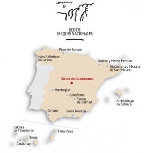 Parque Nacional Sierra de Guadarrama - Ubicación